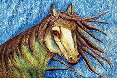 Kanaviçe Rüzgarı, 55x33 cm, 2005